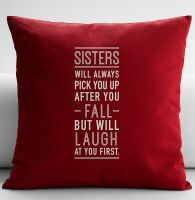 Gối vuông Sisters